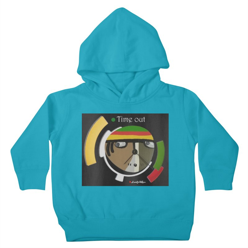 Time Out Kids Toddler Pullover Hoody by Mozayic's Artist Shop
