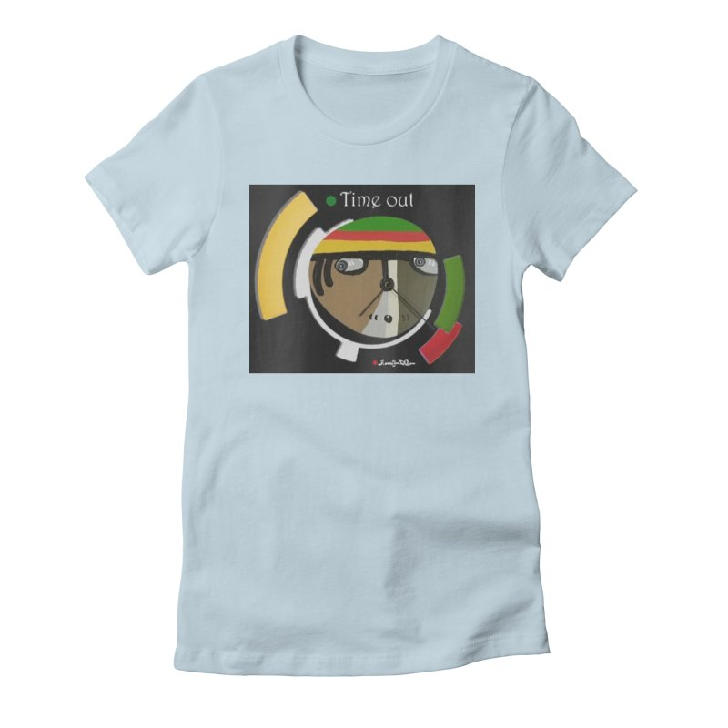 Time Out Women's T-Shirt by Mozayic's Artist Shop