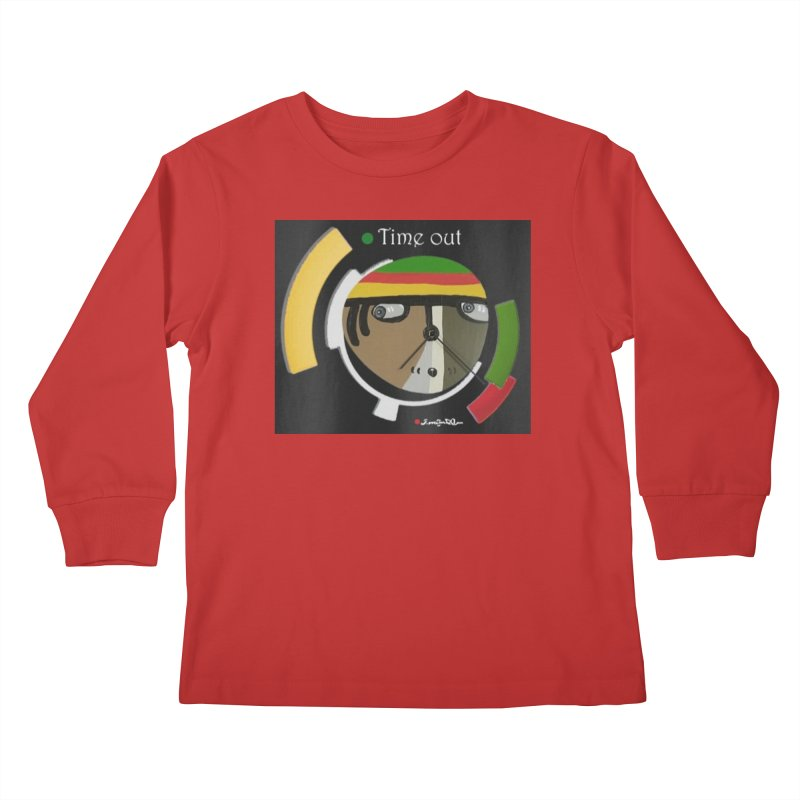 Time Out Kids Longsleeve T-Shirt by Mozayic's Artist Shop