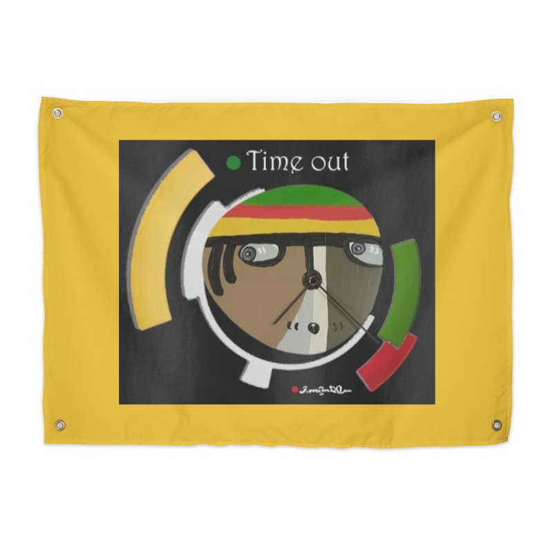 Time Out Home Tapestry by Mozayic's Artist Shop