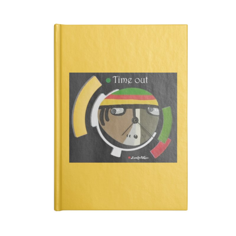 Time Out Accessories Lined Journal Notebook by Mozayic's Artist Shop