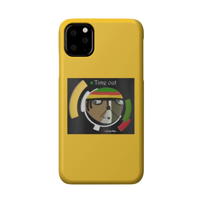 Time Out Accessories Phone Case by Mozayic's Artist Shop