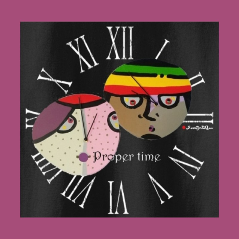 Time Men's V-Neck by Mozayic's Artist Shop