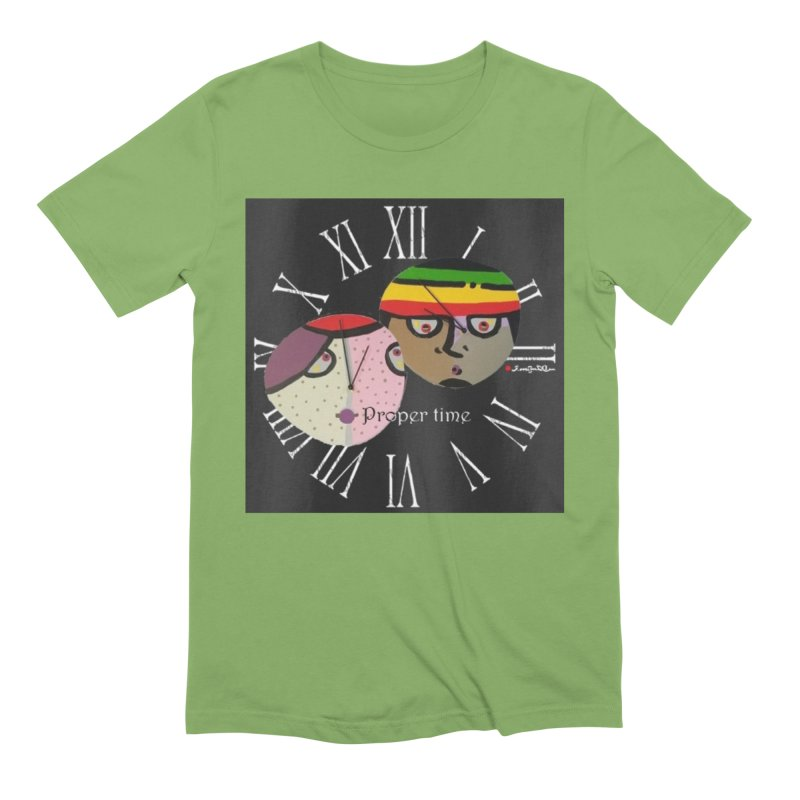 Time Men's Extra Soft T-Shirt by Mozayic's Artist Shop
