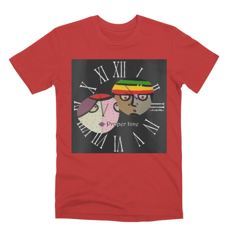 Time Men's Premium T-Shirt by Mozayic's Artist Shop
