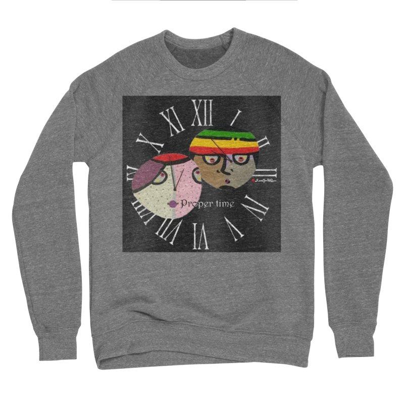 Time Men's Sponge Fleece Sweatshirt by Mozayic's Artist Shop