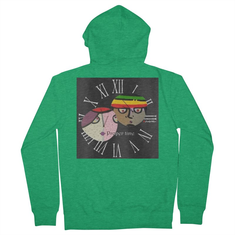 Time Men's Zip-Up Hoody by Mozayic's Artist Shop