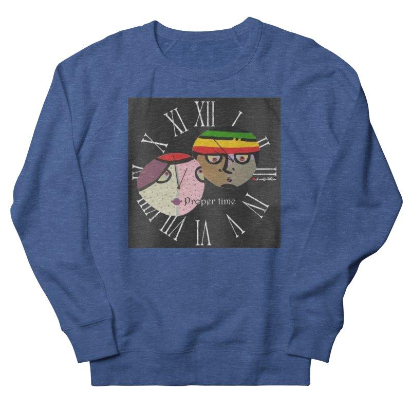 Time Men's Sweatshirt by Mozayic's Artist Shop