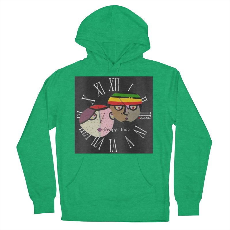 Time Women's French Terry Pullover Hoody by Mozayic's Artist Shop