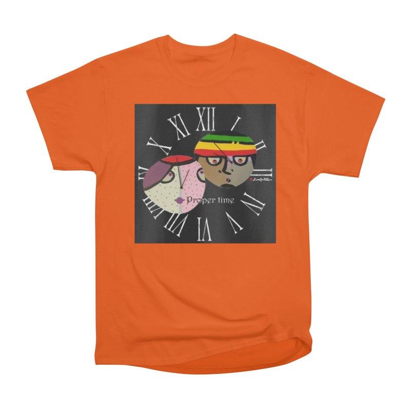Time Women's Heavyweight Unisex T-Shirt by Mozayic's Artist Shop