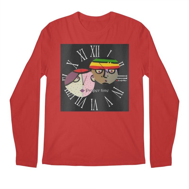 Time Men's Regular Longsleeve T-Shirt by Mozayic's Artist Shop