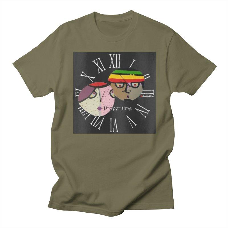 Time Women's Regular Unisex T-Shirt by Mozayic's Artist Shop