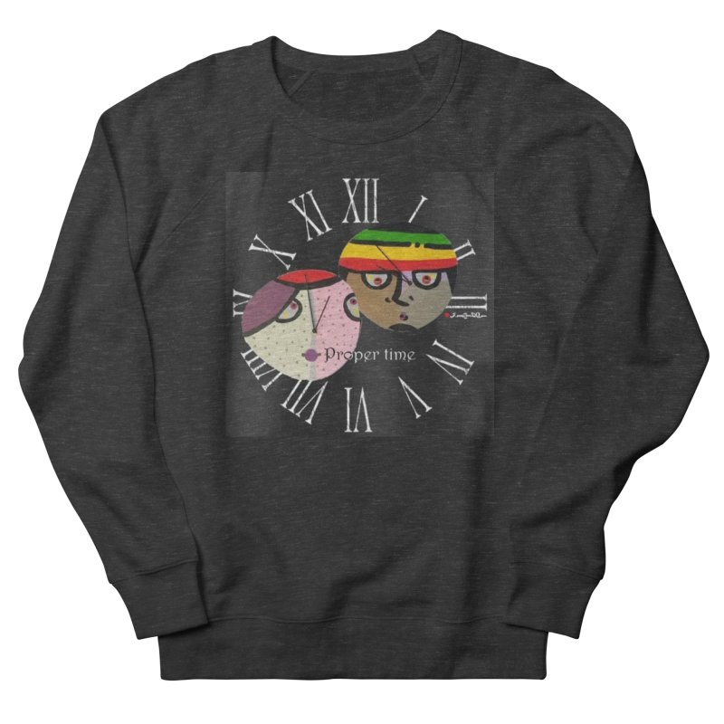Time Women's French Terry Sweatshirt by Mozayic's Artist Shop