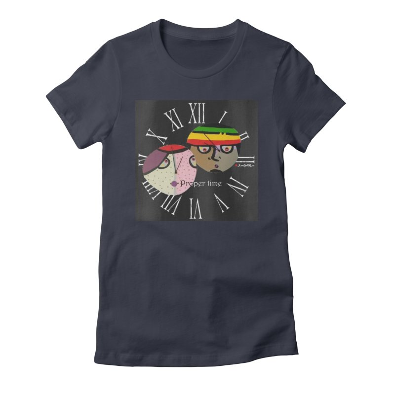 Time Women's Fitted T-Shirt by Mozayic's Artist Shop