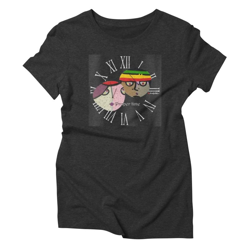 Time Women's Triblend T-Shirt by Mozayic's Artist Shop