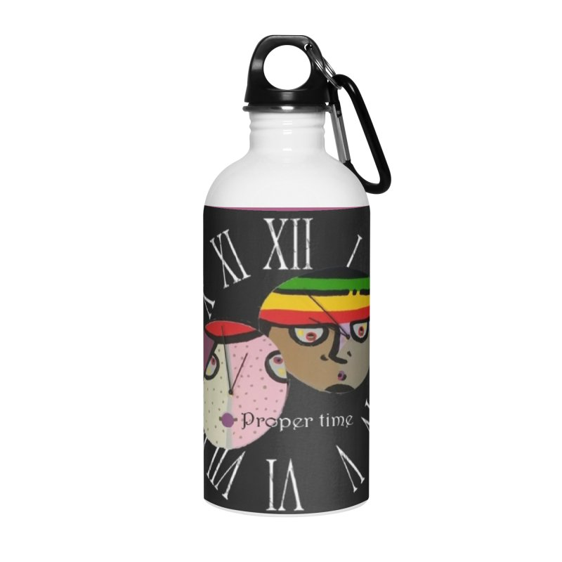 Time Accessories Water Bottle by Mozayic's Artist Shop