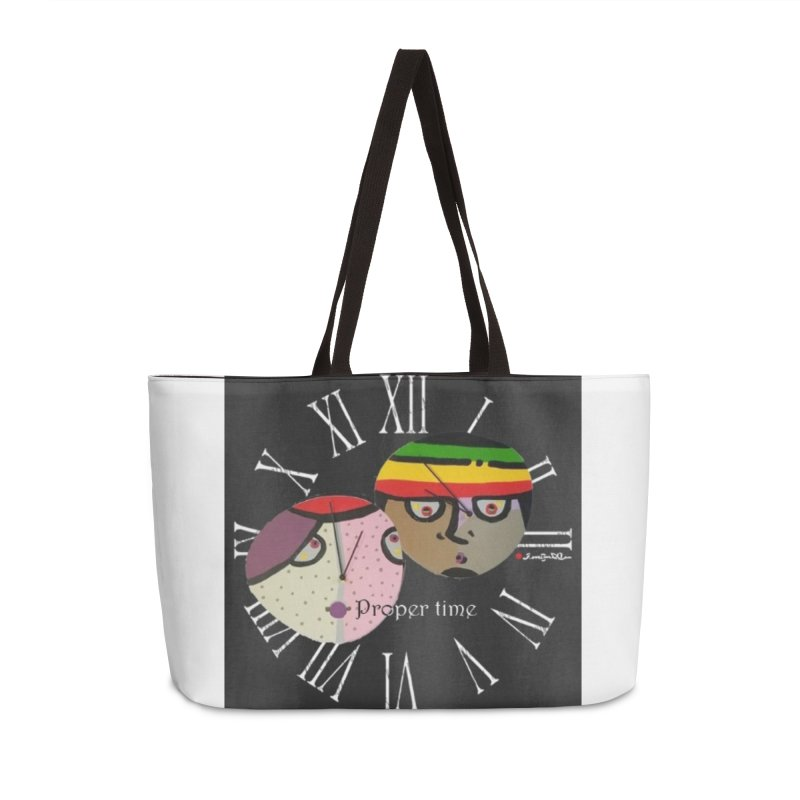Time Accessories Weekender Bag Bag by Mozayic's Artist Shop