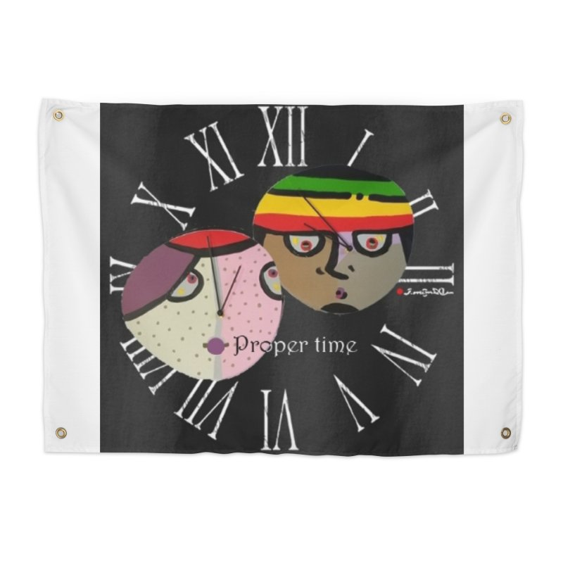 Time Home Tapestry by Mozayic's Artist Shop