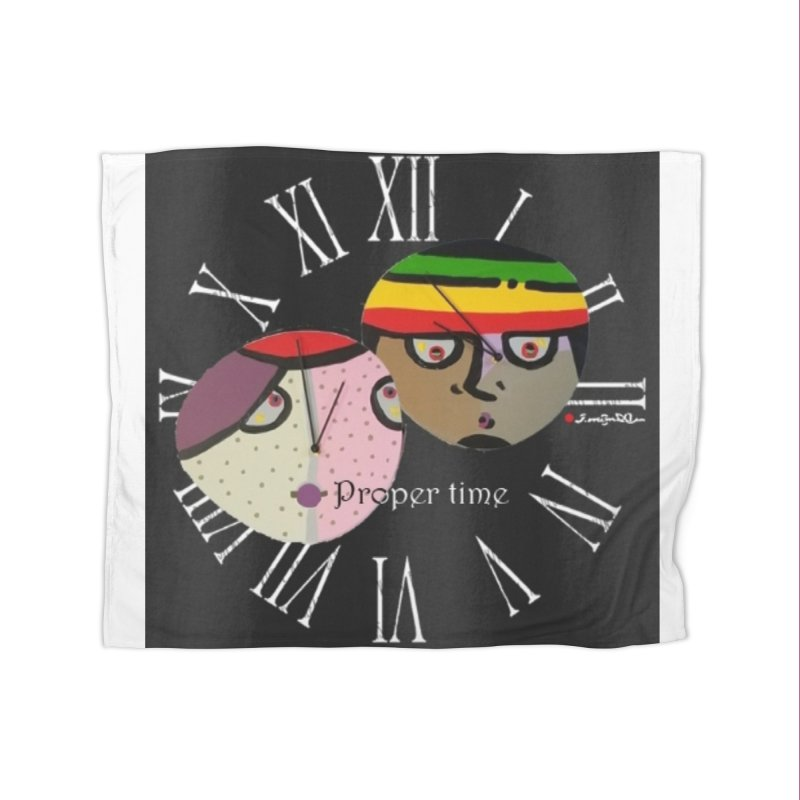 Time Home Fleece Blanket Blanket by Mozayic's Artist Shop