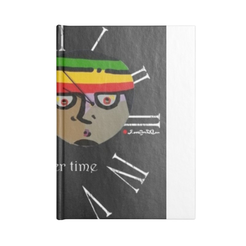 Time Accessories Lined Journal Notebook by Mozayic's Artist Shop