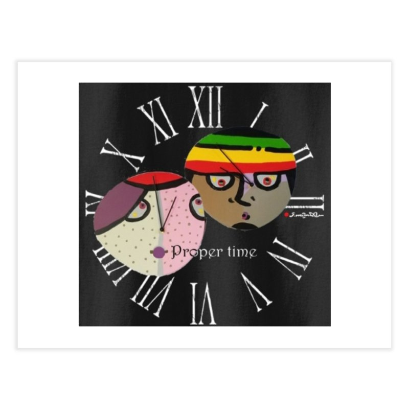 Time Home Fine Art Print by Mozayic's Artist Shop