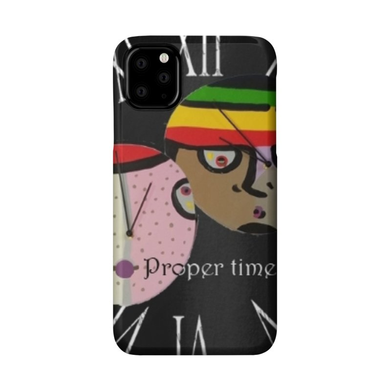 Time Accessories Phone Case by Mozayic's Artist Shop