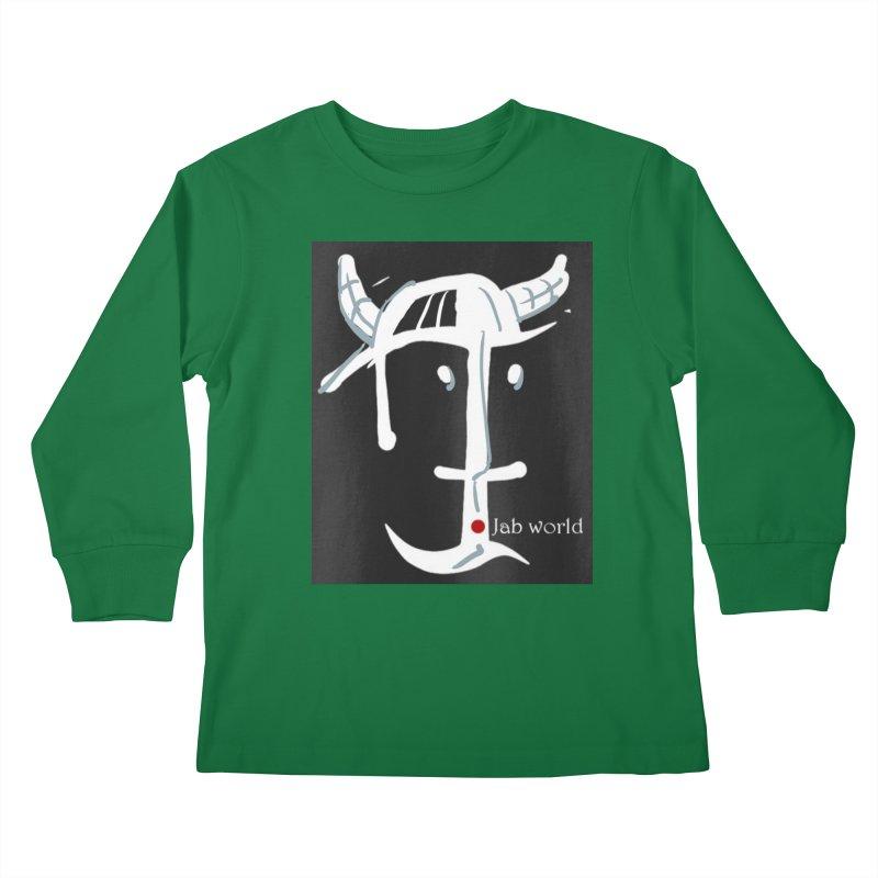 Jab Nation Kids Longsleeve T-Shirt by Mozayic's Artist Shop
