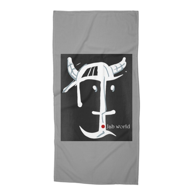 Jab Nation Accessories Beach Towel by Mozayic's Artist Shop