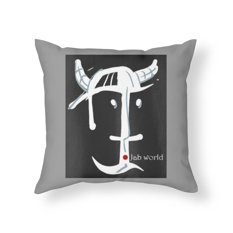 Jab Nation Home Throw Pillow by Mozayic's Artist Shop