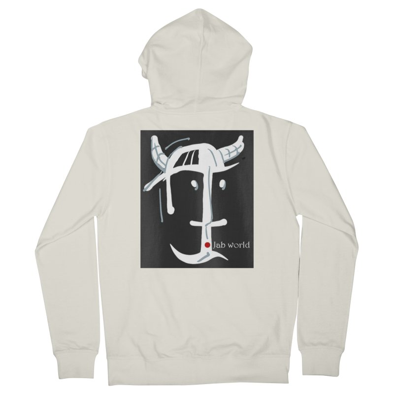 Jab Nation Men's French Terry Zip-Up Hoody by Mozayic's Artist Shop