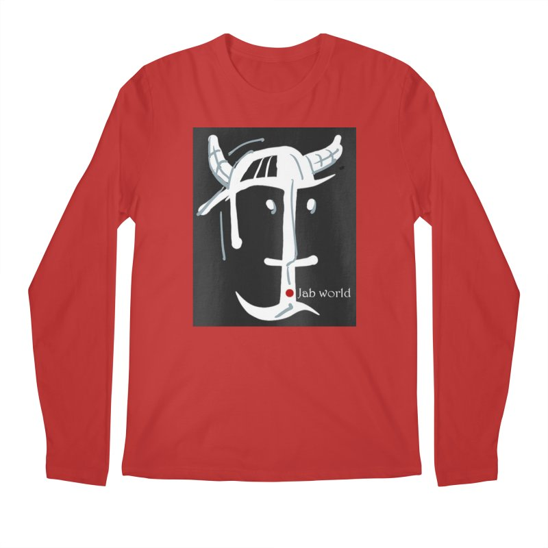 Jab Nation Men's Regular Longsleeve T-Shirt by Mozayic's Artist Shop