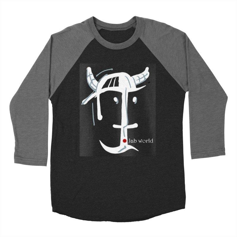 Jab Nation Women's Baseball Triblend Longsleeve T-Shirt by Mozayic's Artist Shop