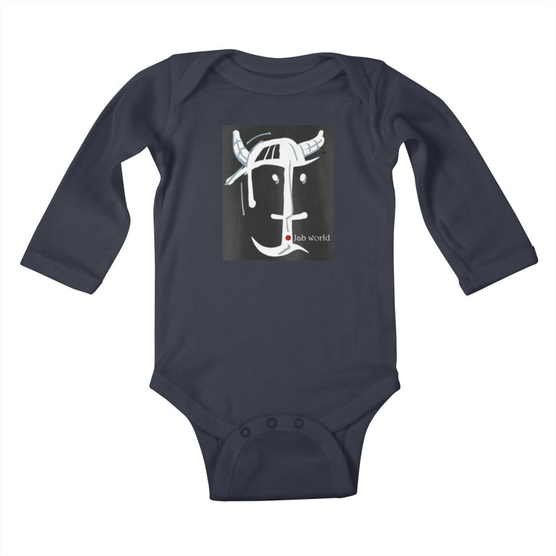 Jab Nation Kids Baby Longsleeve Bodysuit by Mozayic's Artist Shop