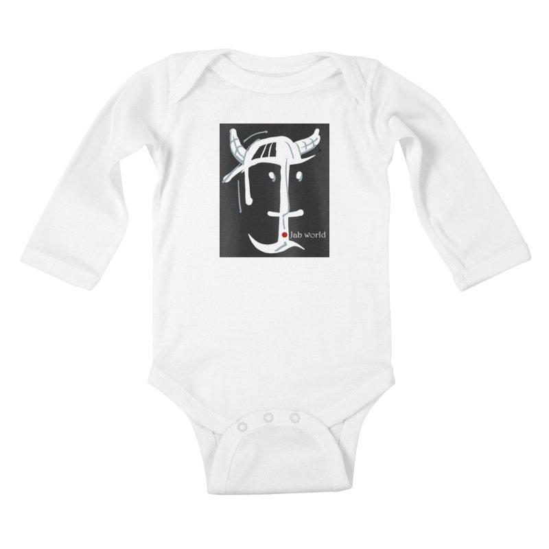 Jab Nation Kids Baby Longsleeve Bodysuit by Mozayic's Artist Shop