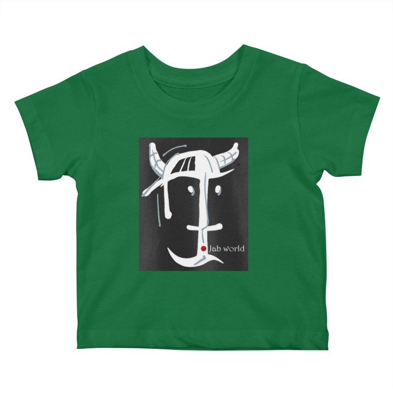 Jab Nation Kids Baby T-Shirt by Mozayic's Artist Shop