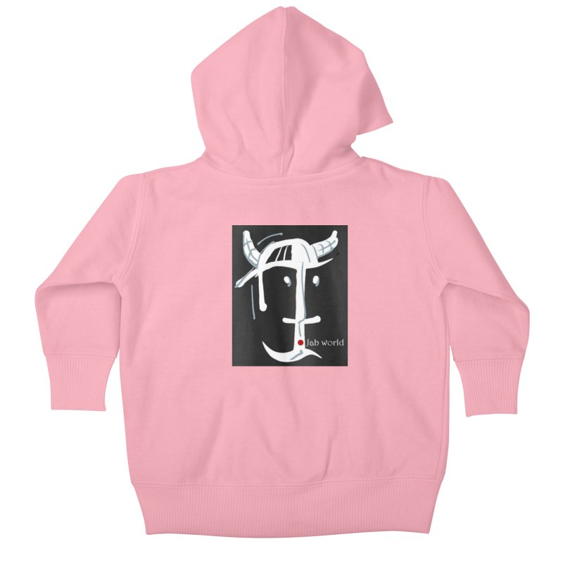 Jab Nation Kids Baby Zip-Up Hoody by Mozayic's Artist Shop