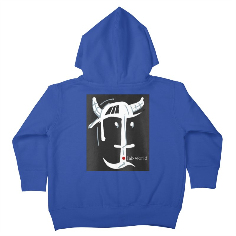 Jab Nation Kids Toddler Zip-Up Hoody by Mozayic's Artist Shop
