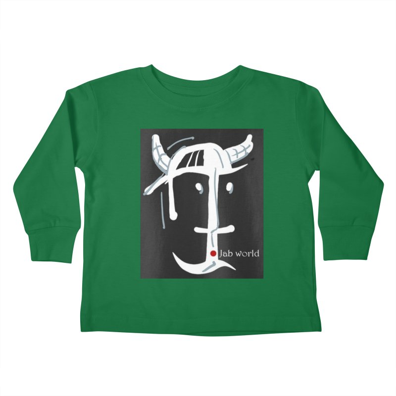 Jab Nation Kids Toddler Longsleeve T-Shirt by Mozayic's Artist Shop