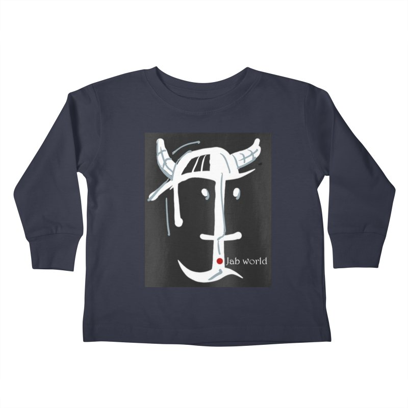 Jab Nation Kids Toddler Longsleeve T-Shirt by Mozayic's Artist Shop
