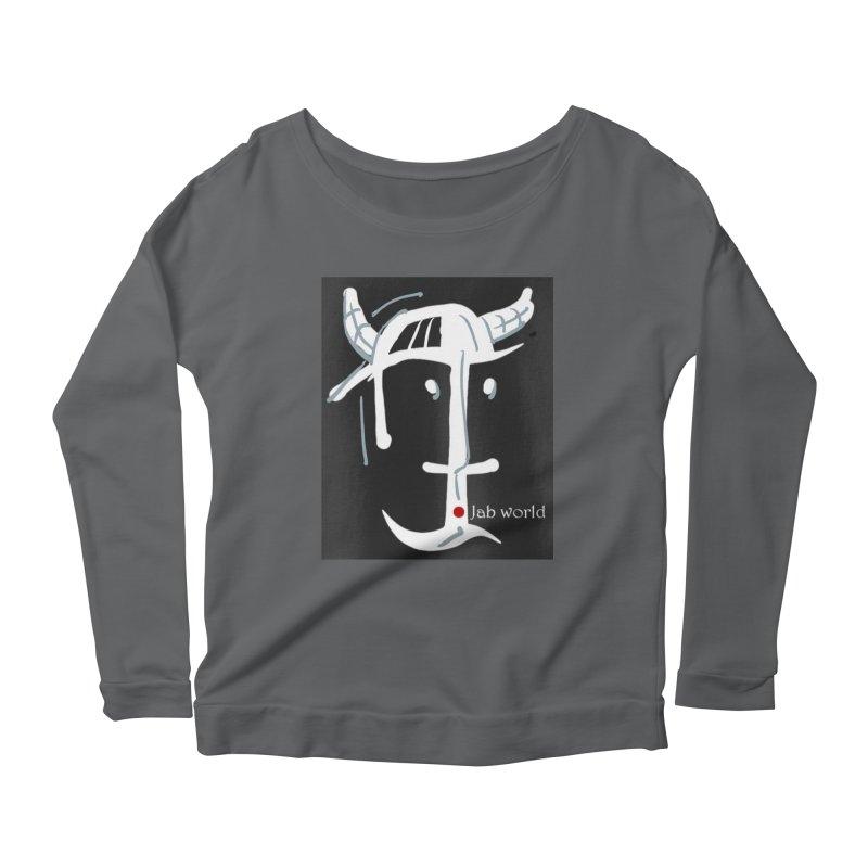 Jab Nation Women's Scoop Neck Longsleeve T-Shirt by Mozayic's Artist Shop