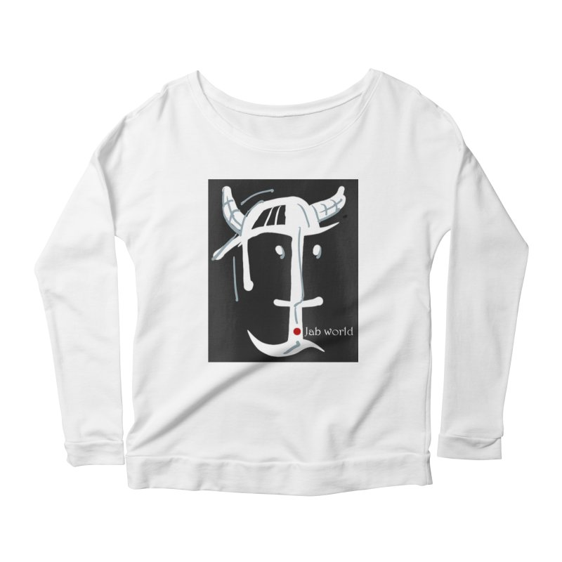 Jab Nation Women's Scoop Neck Longsleeve T-Shirt by Mozayic's Artist Shop