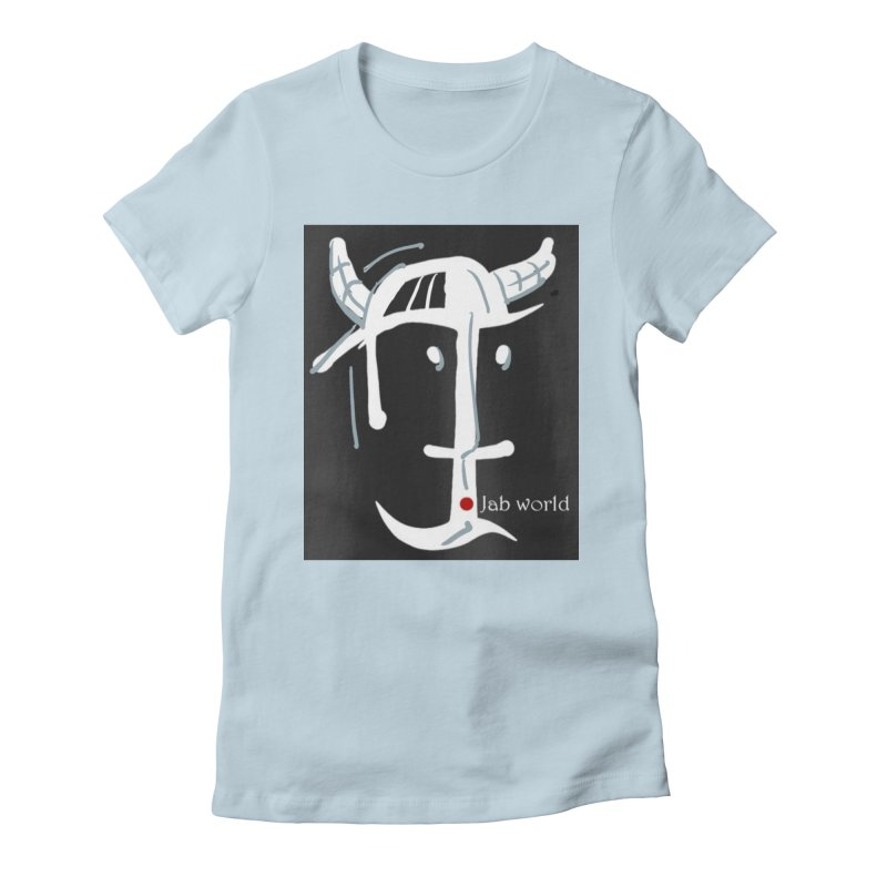 Jab Nation Women's Fitted T-Shirt by Mozayic's Artist Shop