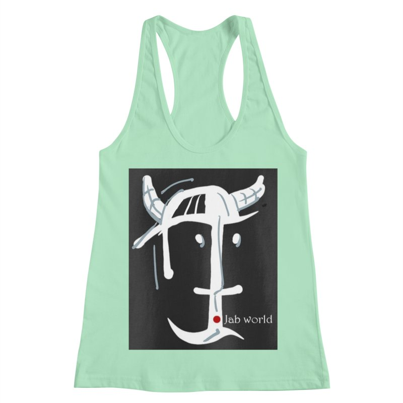 Jab Nation Women's Racerback Tank by Mozayic's Artist Shop