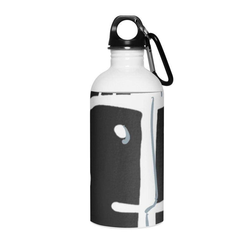 Jab Nation Accessories Water Bottle by Mozayic's Artist Shop