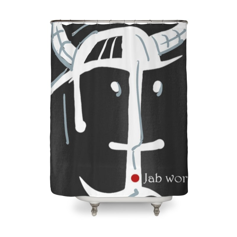 Jab Nation Home Shower Curtain by Mozayic's Artist Shop