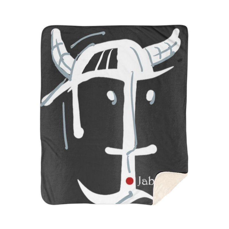 Jab Nation Home Sherpa Blanket Blanket by Mozayic's Artist Shop