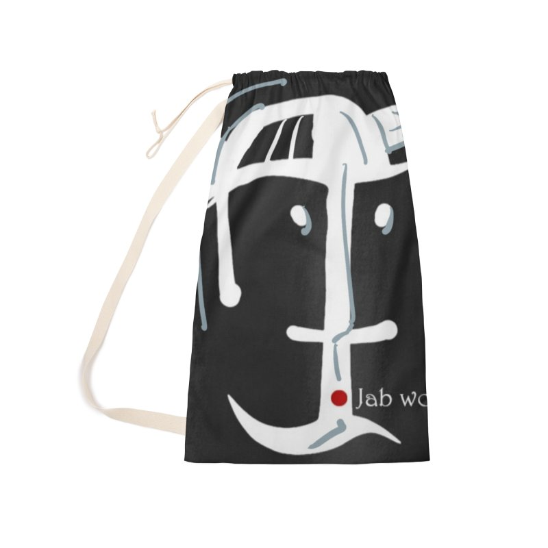 Jab Nation Accessories Laundry Bag Bag by Mozayic's Artist Shop