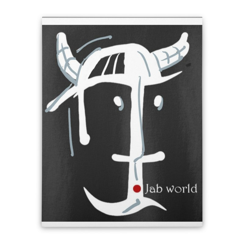 Jab Nation Home Stretched Canvas by Mozayic's Artist Shop