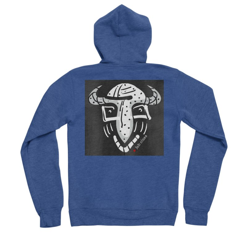 Jab Class Men's Sponge Fleece Zip-Up Hoody by Mozayic's Artist Shop