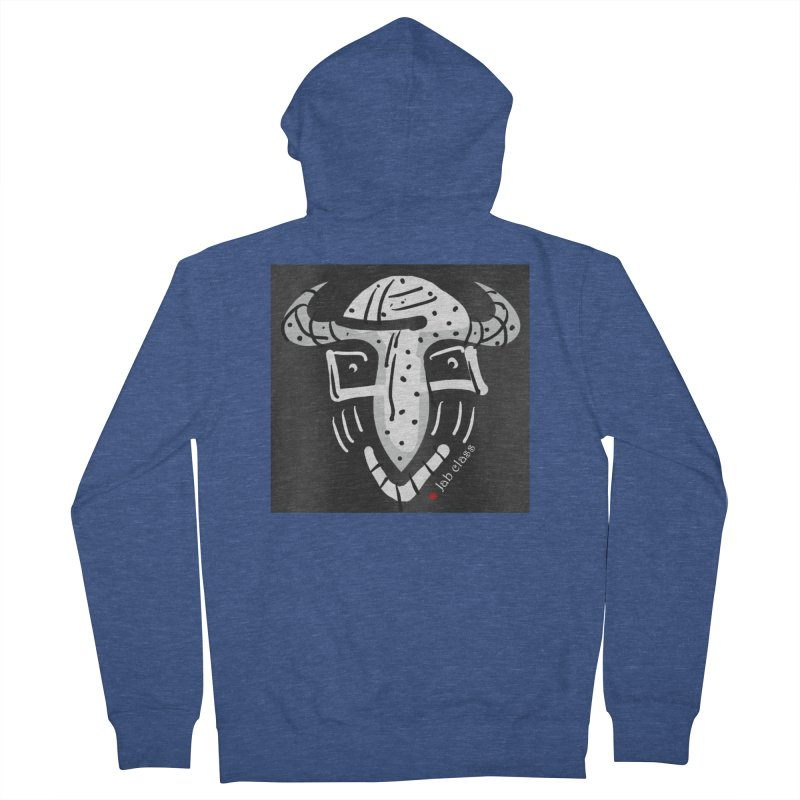 Jab Class Men's French Terry Zip-Up Hoody by Mozayic's Artist Shop